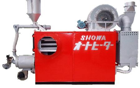ペレット焚きハウス温風暖房機
