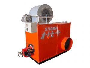暖房機、温風ボイラー
