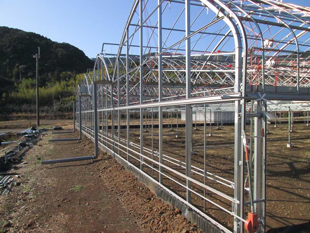 園芸用ハウス,温水ボイラー,暖房機の製造販売を行う昭和産業が改修工事した四万十町4号の写真2